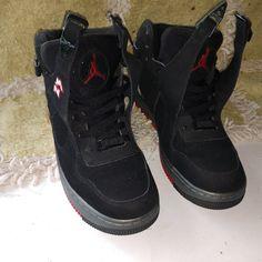 quality design 74b8d d888c Jordan Shoes   Jordan S 8s Nike Airforce Unlimited Edition   Color   Black Red   Size  7