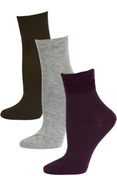 HB Women's Plush Cuff Dress Socks – 3 Pairs « ShoeAdd.com – More Shoes For You Every Day