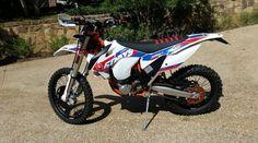 KTM 500 EXC - Left Side
