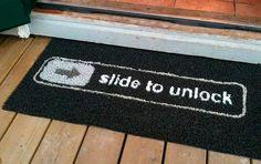 Quiero una alfombra como esta jeje!   - Un Tribunal Alemán Invalida la Patente de Deslizar para Desbloquear