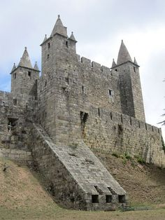 Castelo de Santa Maria da Feira, Aveiro.