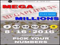 Luxury Mega Million Drawing Time. And I Brenda Avery claim My mega millions lotto numbers, all numbers past, present and future. I'm ready to win Winning Powerball, Winning Lottery Numbers, Lotto Numbers, Winning Numbers, Winning The Lottery, Lottery Tips, Lottery Games, Lottery Website, Play Lotto