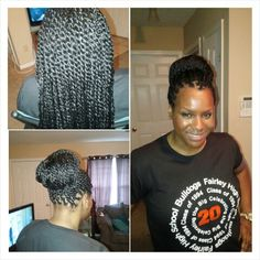 untwisted her crochet Havana Twist Hair/Braids Pinterest Crochet ...