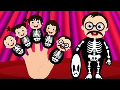 Finger Family Skeleton | Crazy Baby Skeleton Finger Family Nursery Rhymes | Finger Family Songs - YouTube