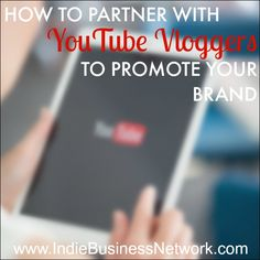 This article shares a short case study of the steps an Indie Business Network member took to work with a popular YouTube vlogger to promote her products.