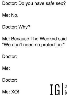 The Weeknd humor
