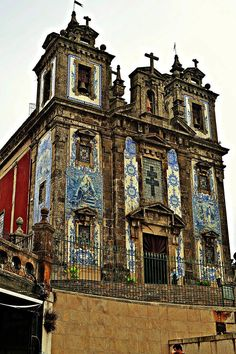 Porto. Portugal Igreja de Santo Ildefonso