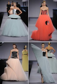 57 Ideas fashion week paris viktor rolf for 2020 Weird Fashion, Look Fashion, Fashion Art, High Fashion, Fashion Show, Fashion Design, Fashion Textiles, Trendy Fashion, Latest Fashion