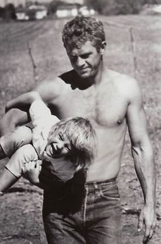 Bill Hamilton with a little Laird Hamilton......