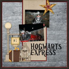 Wizarding World of Harry Potter - Page 10 - MouseScrappers.com