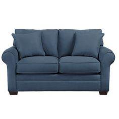 Cindy Crawford Home Bellingham Indigo 2 Pc Living Room - Living Room Sets