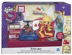 Hasbro My Little Pony Minis - Applejack Slumber Party Games Set (B6040Eu40)