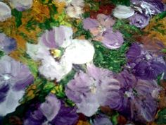 "Original, oil on paper, 11""x14"",  ""Spring garden"" #FineArtbyTuckerDemps"