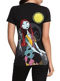 HOTTOPIC.COM - The Nightmare Before Christmas Now And Forever Girls T-Shirt