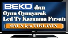 BEKO Play Game  win from LED TV.(Oyun Oyna Bekodan Led Tv Kazan. http://blogokulu.blogspot.com/2012/05/beko-basketbol-oyununu-oynamayan.html