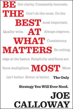 """This week Rory had #bestselling #author and #performance #consultant, Joe Calloway on the show to talk about the central business strategy that top companies and top performers use.  """"Be the best at what matters most."""" Enjoy! - See more at: http://roryvaden.com/blog/category/the-rory-vaden-show/#sthash.u3Gb8Y89.dpuf #topperformers #strategy #business"""