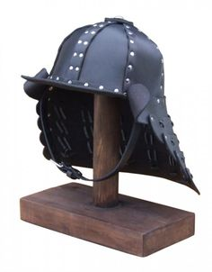 how to make a leather helmet | Leather samurai helmet | Leather helmets & torso armour ...