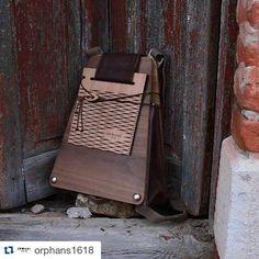 We are orphans' and we design wooden bags. #fashion #handbag #handmade #love #woman  #instagood #follow #orphans1618 #bestoftheday #greece #woodenbag #handcrafted #cute #fashionblog #instagood #fashionista #instagram #followme #tagsforlike