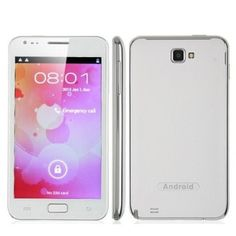 Unlocked Smartphone N8000 5 Inch Screen Android 4.0 Smart Phone Dual SIM Mtk6575 1ghz 3g Tv GPS  http://amzn.to/14YKlma