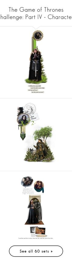 """The Game of Thrones Challenge: Part IV - Characters"" by chomiczynka ❤ liked on Polyvore featuring game of thrones, got, backgrounds, fandom, books, fillers, art, GameOfThrones, chomiczynkadolls and dollsxtv"