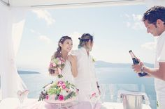 Cheeserland | Santorini Wedding Ceremony