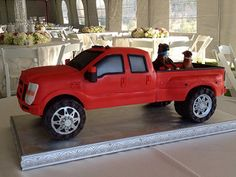 Ford F350 pickup cake   Flickr - Photo Sharing!