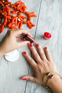 Nail polish is often packed with toxic chemicals, switch to a non-toxic nail polish with our 10 favorite natural nail polishes currently on the market.