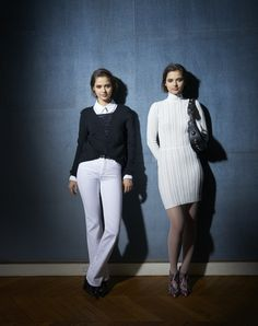 """Introducing the new Sonia by Sonia Rykiel Pre-Fall 2016 collection with the Bloom Twins, the Ukrainian-born English """"dark pop"""" music duo of twins sisters Anna and Sonia Kuprienko, photographed by Sonia Sieff."""