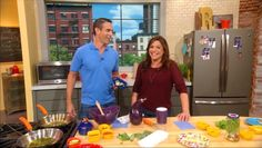 Rachael Ray Show - Food - Jorge Cruise's Savory Squares