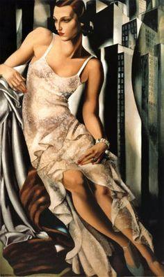 Madame Allan Bott by Tamara de Lempicka