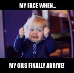 Excited about Young Living Essential Oils!!