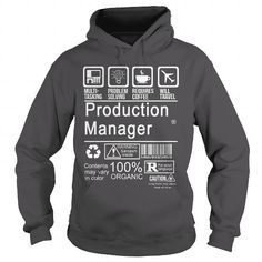 PRODUCTION MANAGER - CERTIFIED JOB TITLE T-SHIRTS, HOODIES (36.99$ ==► Shopping Now) #production #manager #- #certified #job #title #shirts #tshirt #hoodie #sweatshirt #fashion #style