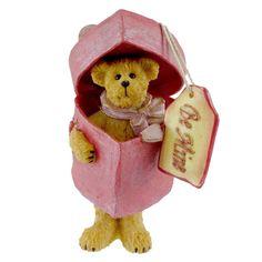 Amazon.com - Boyds Bears Coco Sugarbear...Be Mine 4015214 - Collectible Figurines+ Boyds Bears, Teddy Bears, Bear Valentines, Collectible Figurines, Resin, Christmas Ornaments, Amazon, Holiday Decor, Children