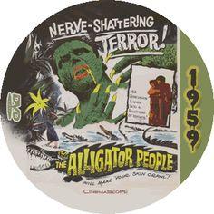The Alligator People (1959) DVD