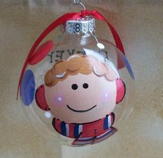 Personalized Ornament like your child  BOY by EmilyGraceArt, $8.50