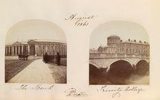 The Bank, Dublin. August 1861