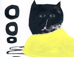 """Check out new work on my @Behance portfolio: """"Landscape with a cat-2"""" http://be.net/gallery/54329325/Landscape-with-a-cat-2"""