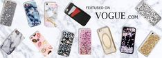 Love these amazing iPhone, Samsung, and Android cell phone cases! CASES A LA MODE - Glamorous And Protective Phone Cases Featured on Vogue | The perfect smartphone mobile device fashion accessory and gift idea for girls, women and teens. Get yours at CASES A LA MODE! #phone #accessories #iphonecase #iphone7plus #gifts #giftideas #marble #mobile #smartphone #samsung #pastel #fashiongoals