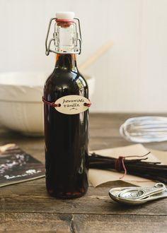Homemade Vanilla Extract | www.kitchenconfidante.com | Homemade vanilla is easy to make and makes a wonderful present!