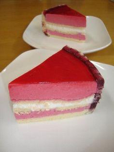 ブラックベリーのムースケーキ by びんまずら 【クックパッド】 簡単おいしいみんなのレシピが275万品