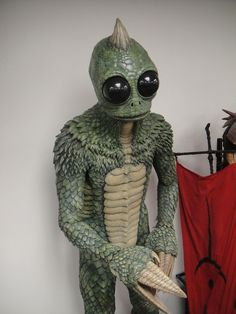 awesome The Prop Store of London - LA - Sleestak from Land of the Lost movie Land Of The Lost, Lost Movie, Movie Tv, Horror Monsters, Horror Icons, Saturday Morning Cartoons, Vintage Comics, Classic Tv, Man Humor