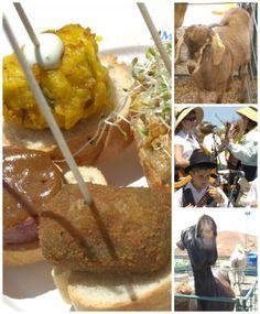 Feria de la Cabra y del cochino negro en Mancha BLanca Tinajo Lanzarote http://azatelier.blogspot.com.es/