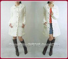 Crochet by Jane Crochet Coat, Crochet Cardigan, Crochet Clothes, Diy Fashion, Trendy Fashion, Fashion Models, Ideias Fashion, Cardigan Pattern, Jacket Pattern
