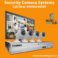 Buy best quality Security Camera Systems with Security Guru who is top leading Security and Surveillance Systems Service Provider in Delhi, NCR
