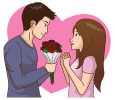 Sending you some Rose's for the beautiful flower of my life to bring frangnance that with surround you all day and remind you that our love blossoms in every condition.I love you my darling ladoo🌹🌷⚘🌹🌷⚘ Love Cartoon Couple, Chibi Couple, Cute Couple Art, Cute Love Cartoons, Cute Cartoon, Cute Couples, L Love U, I Love You Girl, Happy Journey Quotes