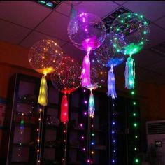 Light Up Balloons, Led Balloons, Balloon Backdrop, Backdrop Decorations, Birthday Decorations, Backdrops, Wedding Decorations, Balloon Decorations, Transparent Balloons