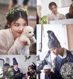 Kim Yoo Jung Slays the Cute Meter Cuddling Puppy in New Moonlight Drawn by Clouds Stills | A Koala's Playground