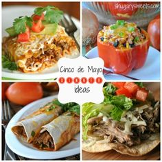 Cinco de Mayo: delicious dinner ideas from shugarysweets.com