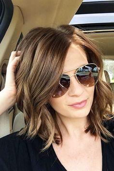 Brown Hair Color, Hair Medium Long Faces