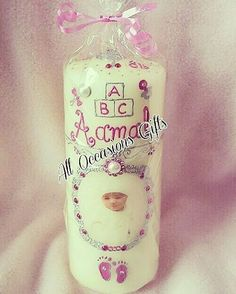 LOVE��this Unique Stunningly gorgeous�� bespoke design�� #personalisedBabycandle #babygirl ������ #babylove #Beautifully��wrapped up #newbabyarrivalgift����Ordered by a lovely sweet customer�� #DMme�� get your perfect gift ��  Thank you for ordering from �� All Occasions Gifts��...������ #Celebrations��#Anyoccasiongift #ONESTOP✋#babygift #babyshowergift #Birthdaygift #Weddinggift…